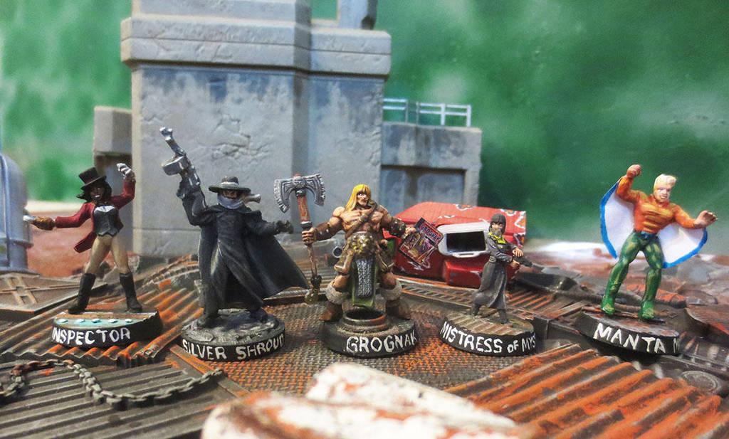 The Unstoppables in Miniature by JordanGreywolf