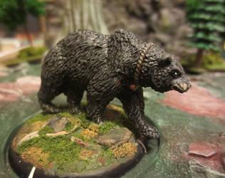 Citadel Wood Elves Bear Circa 1988 by JordanGreywolf