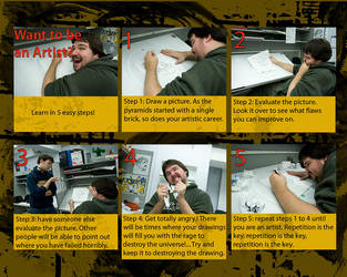 Artist in 5 easy steps by keosuki