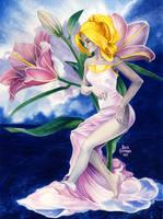 Lily Reverie by maria-jaujou