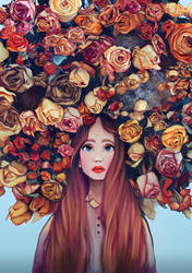 Flowers in your Hair by slvsgtt