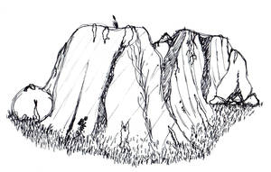 Rock Formation by mattyhex