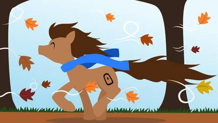 (OC, UKofE Art Contest Entry) Autumn Wander by mattyhex