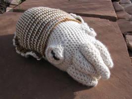 Cuttlefish amigurumi by wee-axolotl