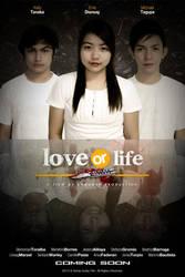 Love Or Life Short Film Poster by kikomachinist