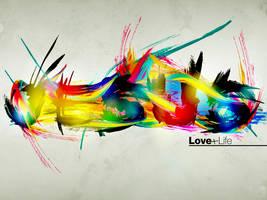 Jesus love+life - Wallpaper by mostpato