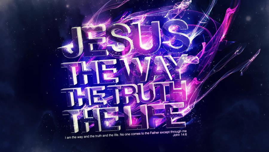 Jesus Way True Life - Wallpaper by mostpato