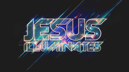 Jesus Illuminates -  Wallpaper by mostpato