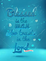 Jeremiah 17:7 - Poster by mostpato