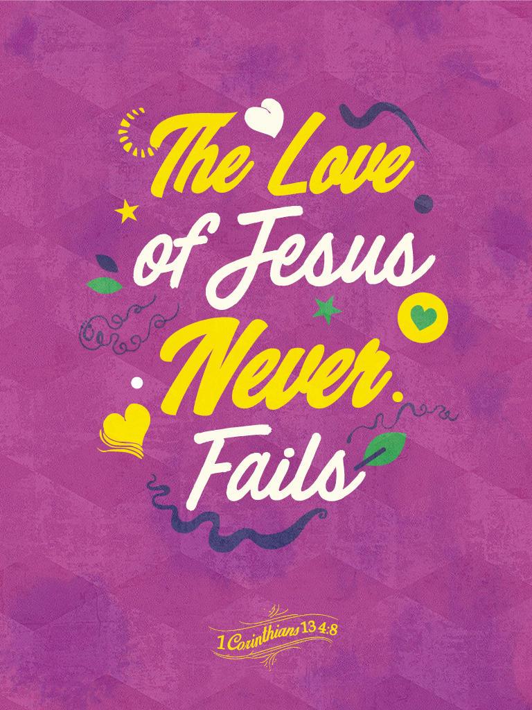1 Corinthians 13 4:8 - Poster by mostpato