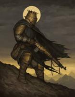 Holy Warrior by ArielPerezArt