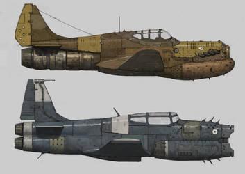 War Planes by ArielPerezArt