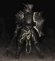 Death Knight by ArielPerezArt
