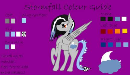 Stormfall Colour Guide by StormfallDragonheart
