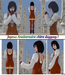 [Re-Upload] Birthday Comic to Dagga19 by ADS-04