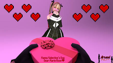 [Re-Upload] Be My Valentine Dear Marie Rose by ADS-04