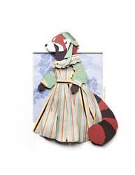 Mrs. Red Panda by Skribbles
