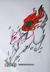 Amaterasu by Eitae