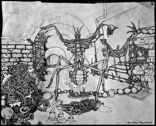 Mantis WIP by thebastet