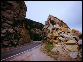 Through the Mountain by thebastet