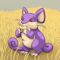 019: I Has a Corm Rattata by Rikkoshaye