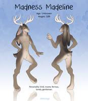 Madness Madeline by Rikkoshaye