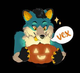 Vex - Conbadge Exchange by Rikkoshaye