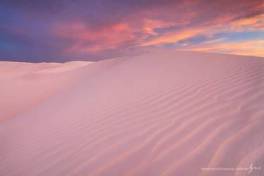 White Sands Sunset by Nate-Zeman