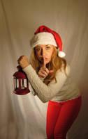 Quiet Santa- Stock by Tris-Marie