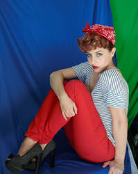 Lucy Pinup Stock 3 by Tris-Marie