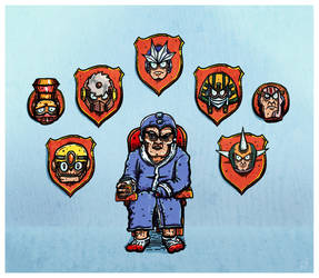 Mega Man Retires by gorbbuster
