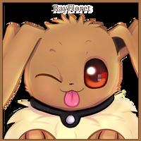 Eevee Wink! by RayFloret