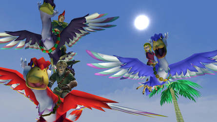 garrymod: Zelda Skyword Sword: To the sky!! by Shatoyarn-MoonGoddes