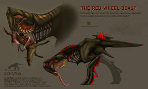 Agnatha: The Red Wheel Beast by Spiralfish