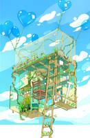 Fantasy Bed by CaringWong