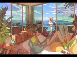 Mr.Sea, Morning! by CaringWong