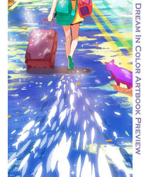 Dream in Color Artbook Preview by CaringWong