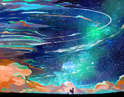 Windy Night by CaringWong
