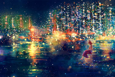 Stars on the ground II by CaringWong