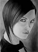 Charlize Theron as Aeon Flux by eemran