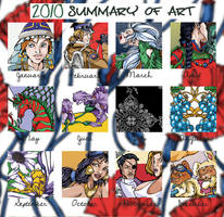 2010 Summary of Art by syn-snow