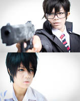 Ao no Exorcist- Brothers by NatsuPi