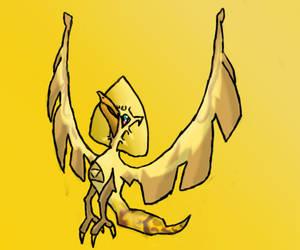courage power wisdom bird pkmn by famousdaan