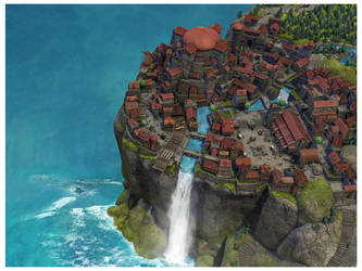 Sky town by Alexi-C