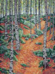 Birch Forest by Alexi-C