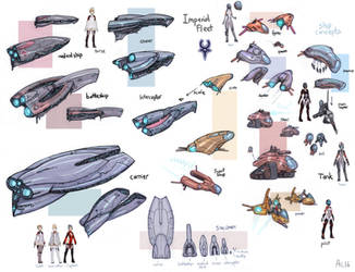 Imperial Ship Concepts by Alexi-C