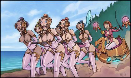 Arian's Ponygirls by Alexi-C