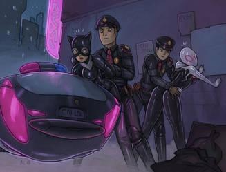 Under Arrest (Commission) by Alexi-C