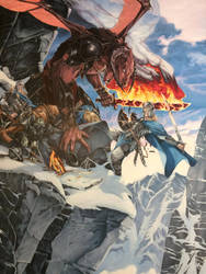 Glorfindel and the Balrog by Alexi-C