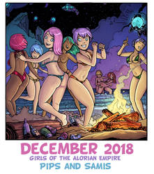 December 2018 (Beach Party!) by Alexi-C